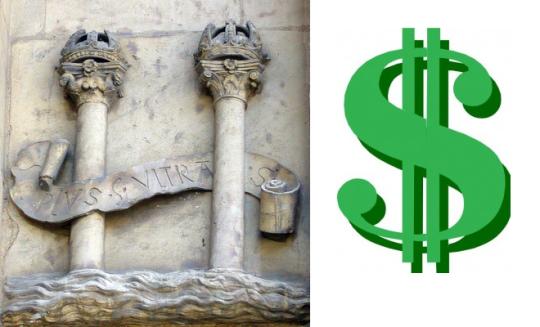 símbolo-peso-dólar
