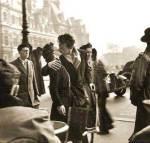El beso del Hotel du Ville (1950). R. Doisneau