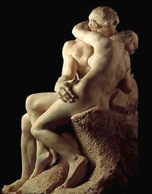 El beso (1882-1889). Auguste Rodin
