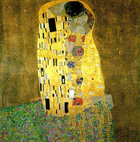 Der Kuss (1907-1908). Gustav Klimt