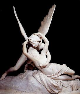 Psique reanimada por el beso de Amor / El Amor de psique /El beso (1787-1793). Antonio Canova
