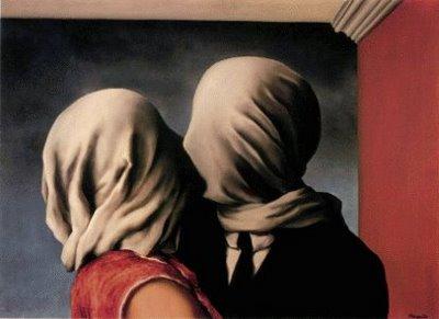 Los amantes (1928). René Magritte