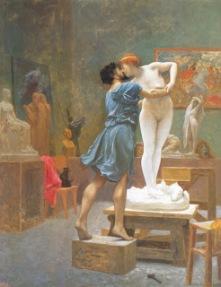 Pigmalión y Galatea, c. 1890. Jean-Léon Gérôme