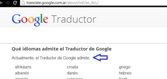 google-traductor